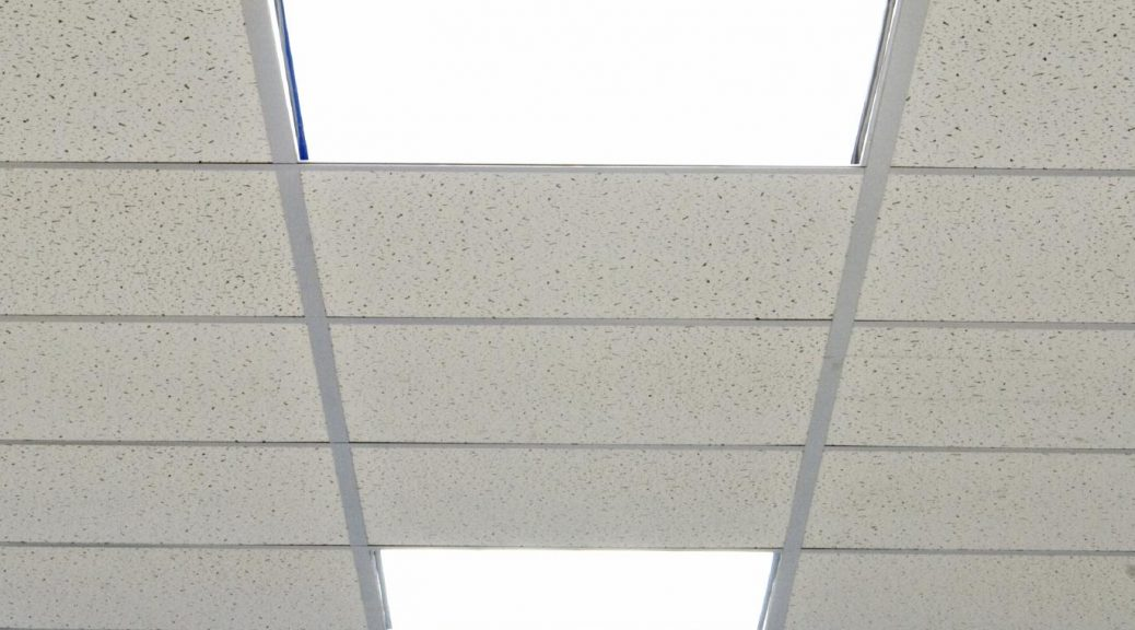 Look Up Are Your Ceiling Tiles Being Cleaned Properly